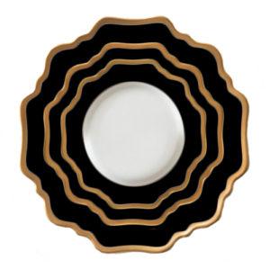 black-gold-porcelana-zastawa-stołowa-sunflowers-home-story-atelier-klasycznie-pieknych-wnętrz.