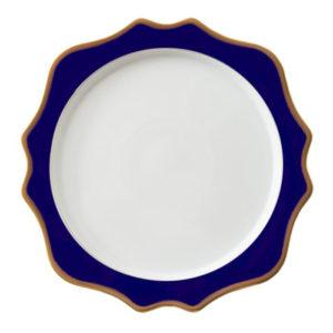navy-blue-talerz-chargrowy-porcelana-zastawa-stołowa-sunflowers-home-story-atelier-klasycznie-pieknych-wnętrz