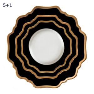 porcelana-zastawa-stołowa-sunflowers-home-story-atelier-klasycznie-pieknych-wnętrz-black-gold