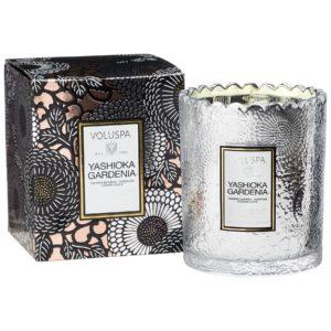 yashioka-gardenia-świeca-zapachowa-kronkowa-szklana-Voluspa-HOME-STORY-świeca-zapachowa-perfumowana-home-ambiente-święta