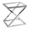 : stolik-boczny-cross-50x50-chrom-ctal-nierdzewna-szkło-nowojorski-glamour-home-story-atelier